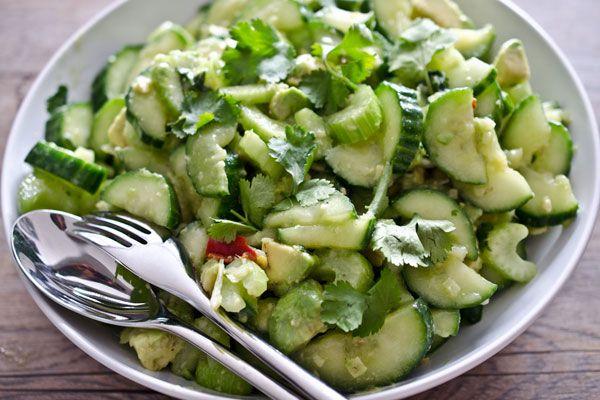 Avocado Og Agurke Salat Min Sovsdk